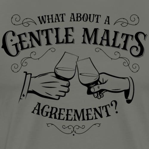 Gentle Malts Agreement_Dark - Männer Premium T-Shirt