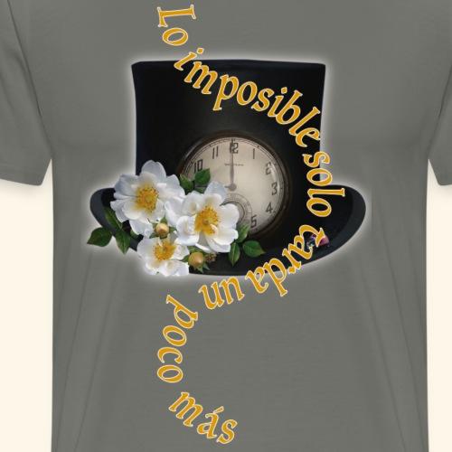 LO IMPOSIBLE - Camiseta premium hombre