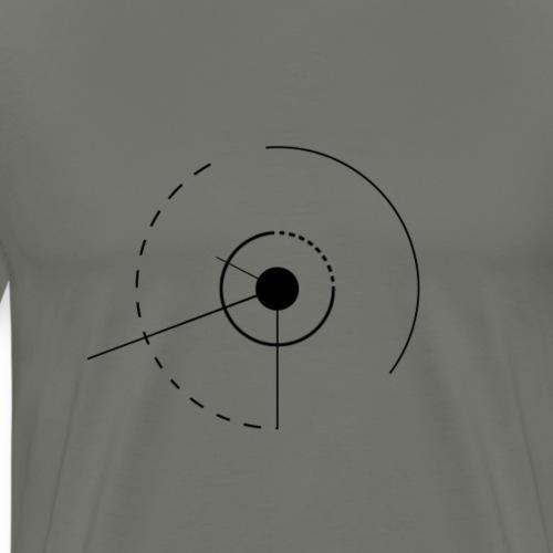 cercles et angles - T-shirt Premium Homme