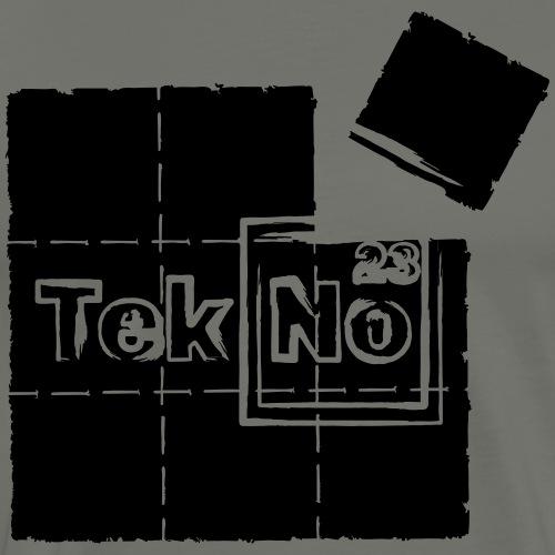 tekno23 blotter - Men's Premium T-Shirt