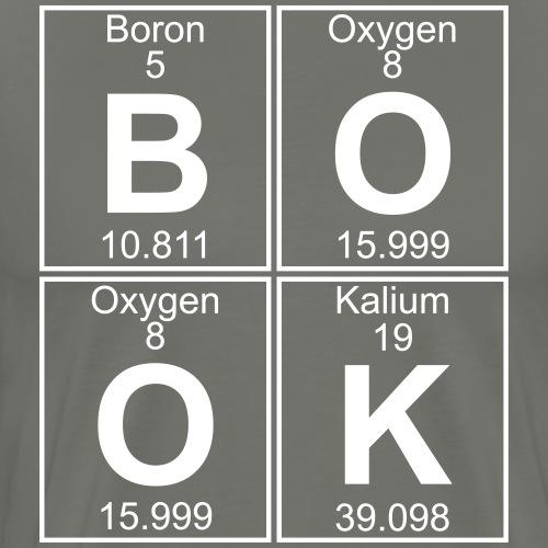 B-O-O-K (book) - Full - Men's Premium T-Shirt