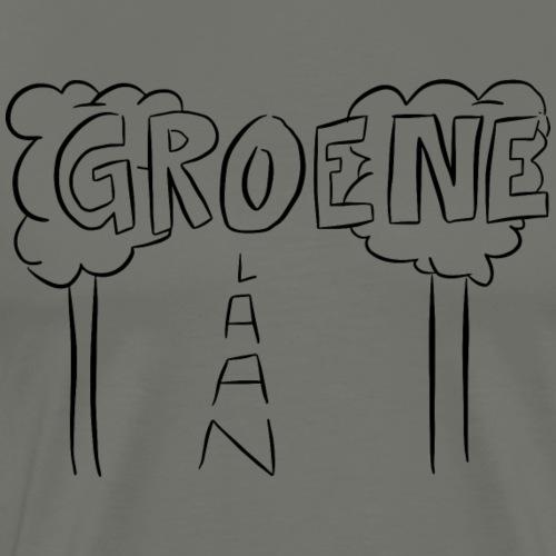 Groenelaan Amstelveen - Mannen Premium T-shirt