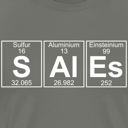 S-Al-Es (sales) - Full - Men's Premium T-Shirt