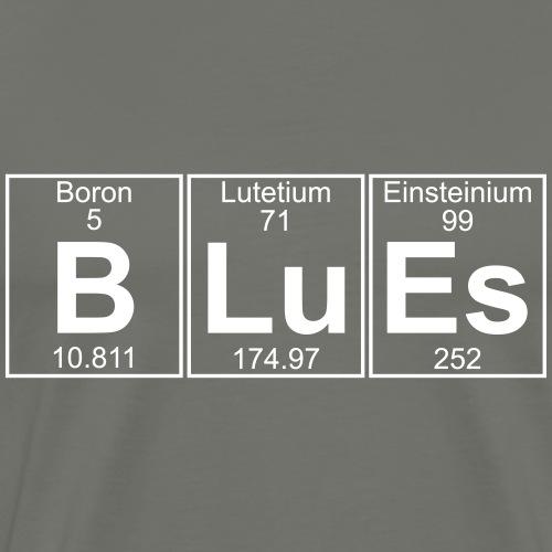 B-Lu-Es (blues) - Full - Men's Premium T-Shirt