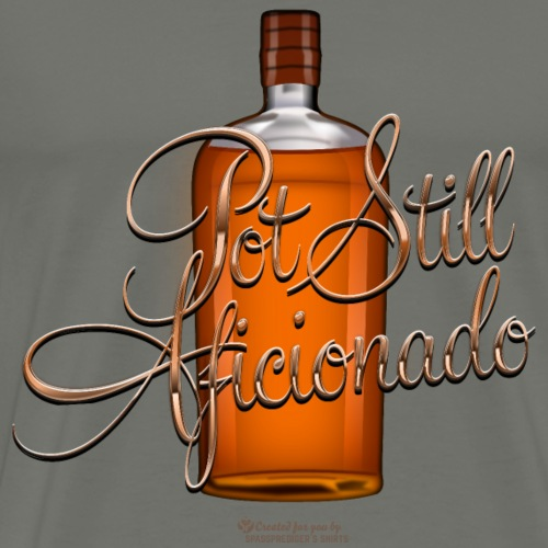Whisky Pot Still Aficionado   Whisky T-Shirts - Männer Premium T-Shirt
