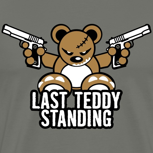 Teddy »Last Stand« - Color - Männer Premium T-Shirt