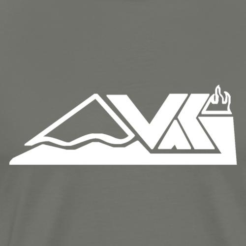 Vaki White Done - Männer Premium T-Shirt