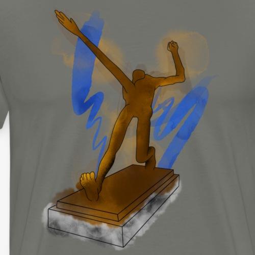 LPZG Statue By TheRawburt - Premium-T-shirt herr