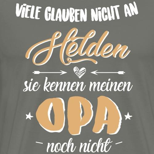 Opa Held - Männer Premium T-Shirt