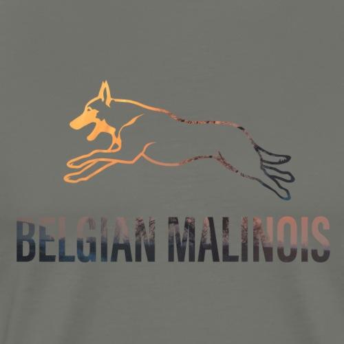 Belgian Malinois - Männer Premium T-Shirt