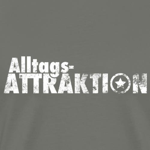 AlltagsATTRAKTION weiß - Männer Premium T-Shirt
