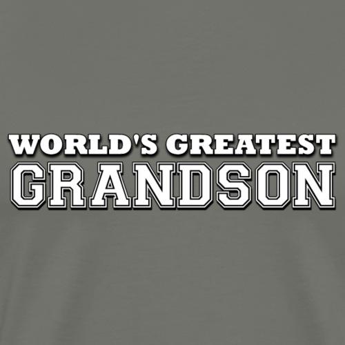 World's Greatest Grandson - Men's Premium T-Shirt