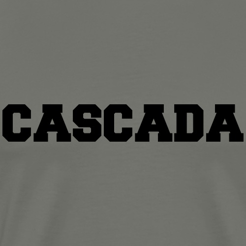 CASCADA - University - Style - Men's Premium T-Shirt