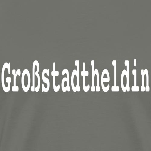 Großstadtheldin - Männer Premium T-Shirt