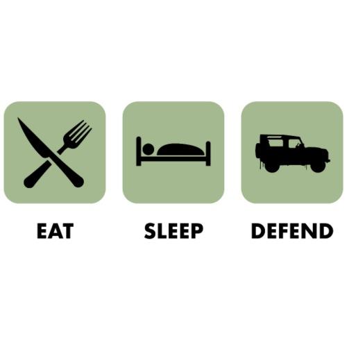 Eat, sleep & defend