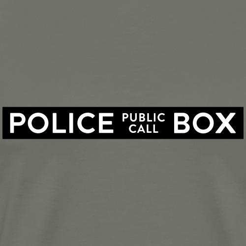 tardis police box - Maglietta Premium da uomo