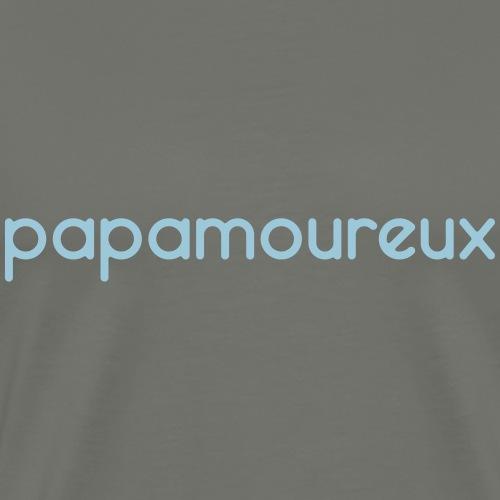 Papa Amoureux - Personnalisable - Papamoureux - T-shirt Premium Homme
