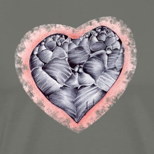Coeur empli - T-shirt Premium Homme