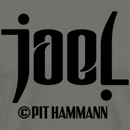 Ambigramm Joel 01 Pit Hammann - Männer Premium T-Shirt