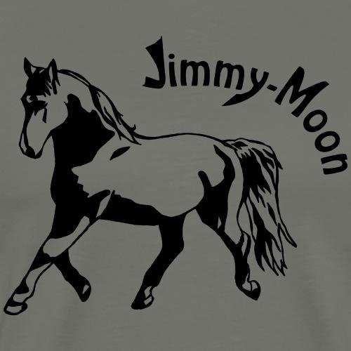 Jimmy on Text - Männer Premium T-Shirt
