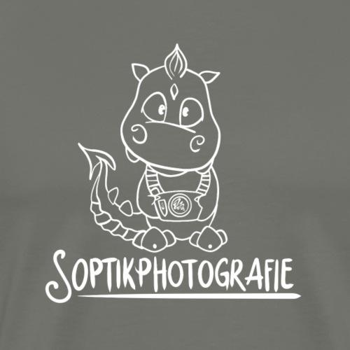 Soptik Logo - Männer Premium T-Shirt