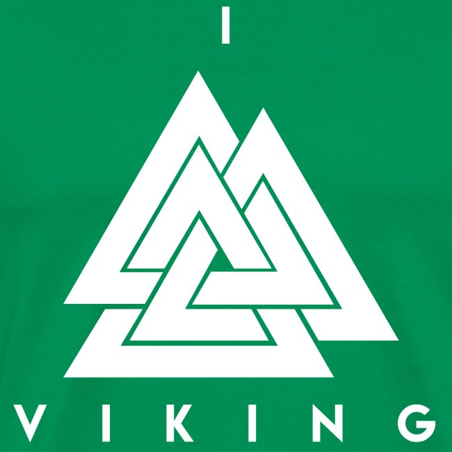 I lov Viking White