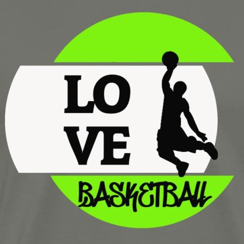 Love Basketball - Männer Premium T-Shirt