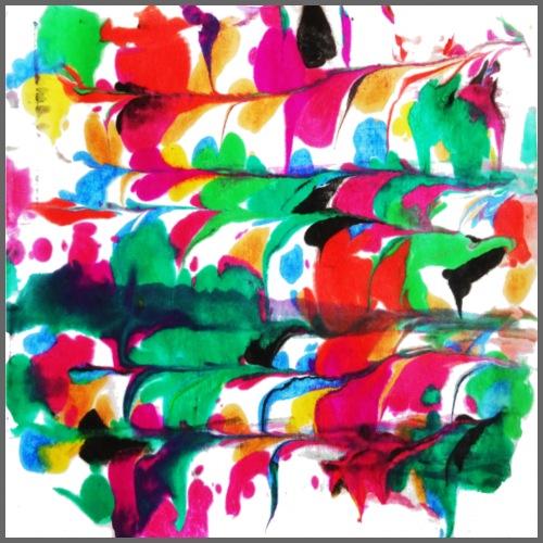 Cuori colorati - Maglietta Premium da uomo