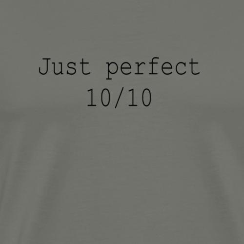 Just perfect black - Männer Premium T-Shirt