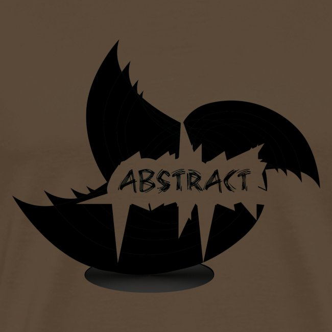 Black Abstract Bird