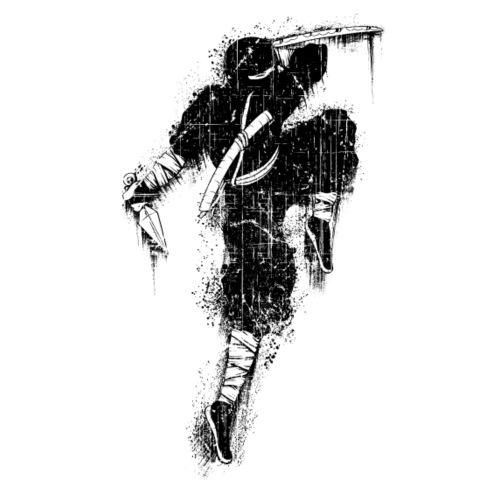 ninja - Maglietta Premium da uomo