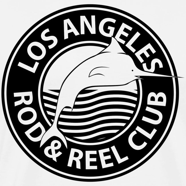 Black Los Angeles Rod And Reel Club