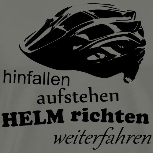 Helm richten, aufstehen - Männer Premium T-Shirt