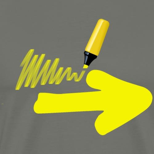 Draw your own Arrow 005 - Männer Premium T-Shirt