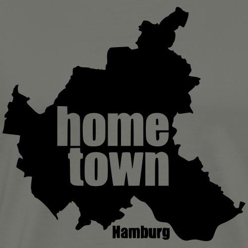 Hamburg-home-town - Männer Premium T-Shirt