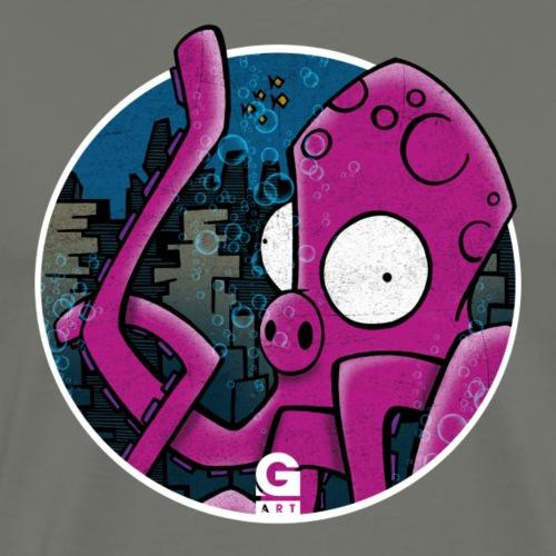 GIGGJOTT animatti poliporco - Maglietta Premium da uomo