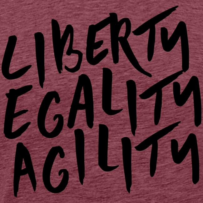 Liberty Egality Agility - Tote Bag
