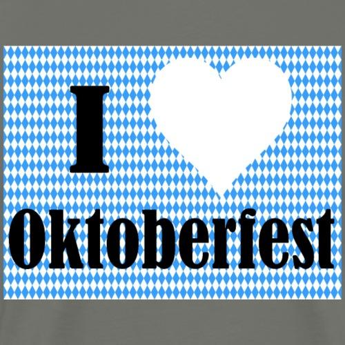 I Love Oktoberfest - Männer Premium T-Shirt