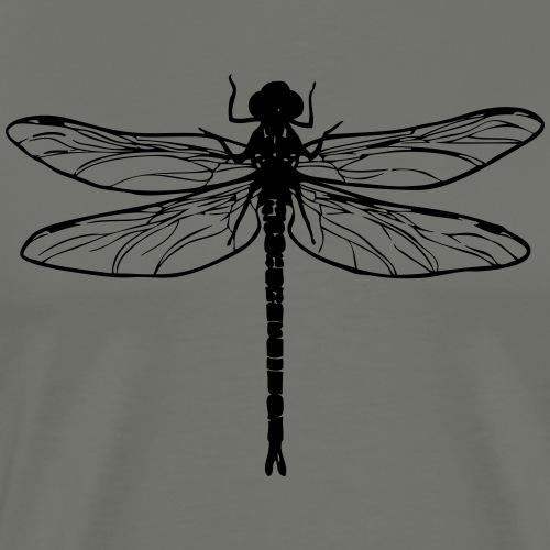 Dragonfly - Miesten premium t-paita