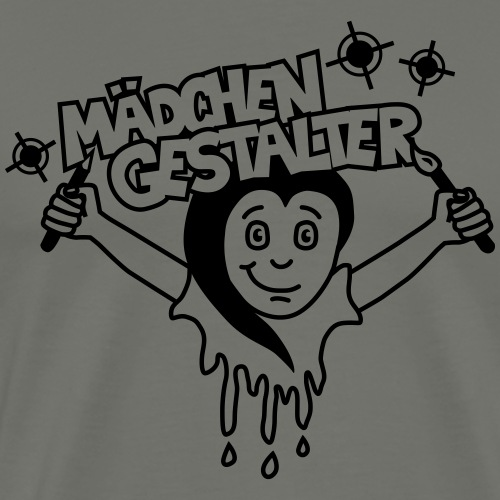 Mädchengestalter - Männer Premium T-Shirt