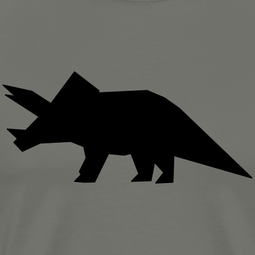 Dino Triceratops - Männer Premium T-Shirt