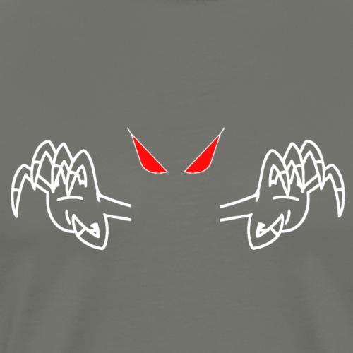demone bianco - Maglietta Premium da uomo