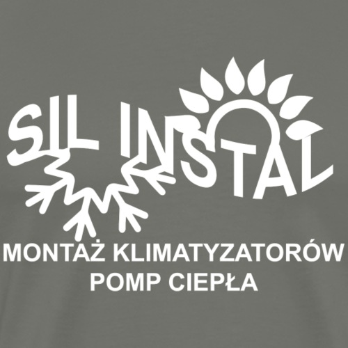 sil instal - Koszulka męska Premium