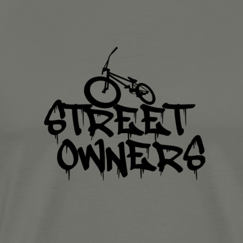owners streeets - Men's Premium T-Shirt