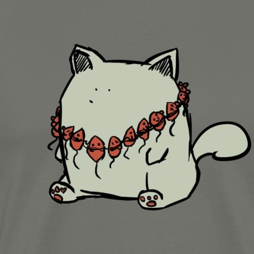 Parker, die Katze - Männer Premium T-Shirt
