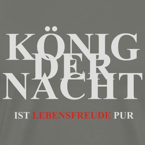 KÖNIG DER NACHT - Men's Premium T-Shirt
