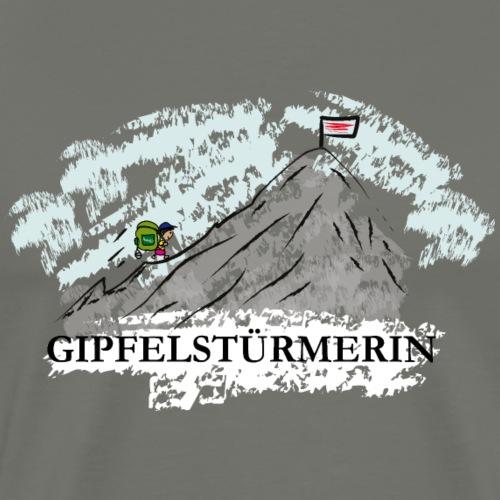 Gipfelstürmerin - Männer Premium T-Shirt