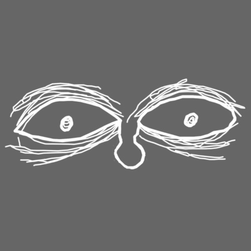 Eyes - Camiseta premium hombre