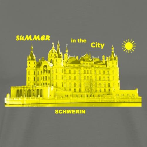 Summer Schwerin City Sommer Mecklenburg Vorpommern - Männer Premium T-Shirt