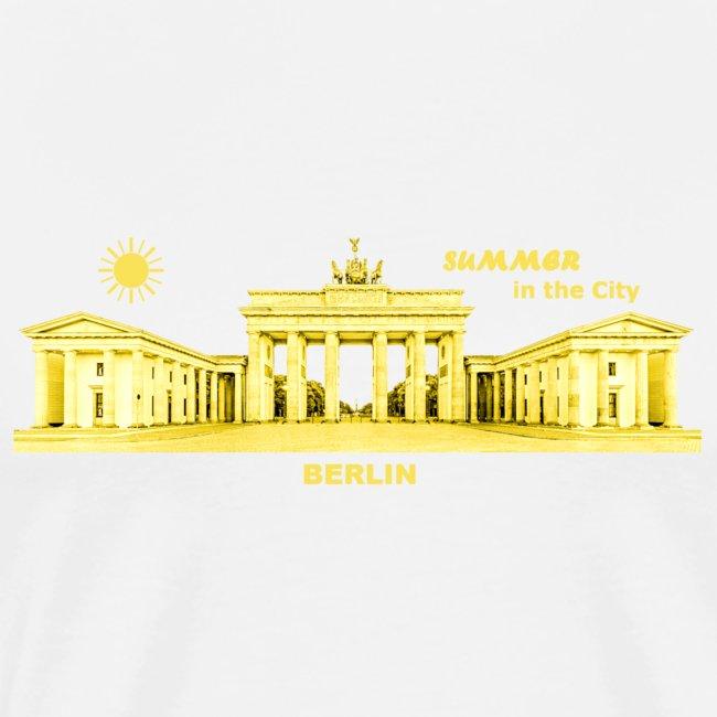 Sommer Berlin City Brandenburger Tor Hauptstadt